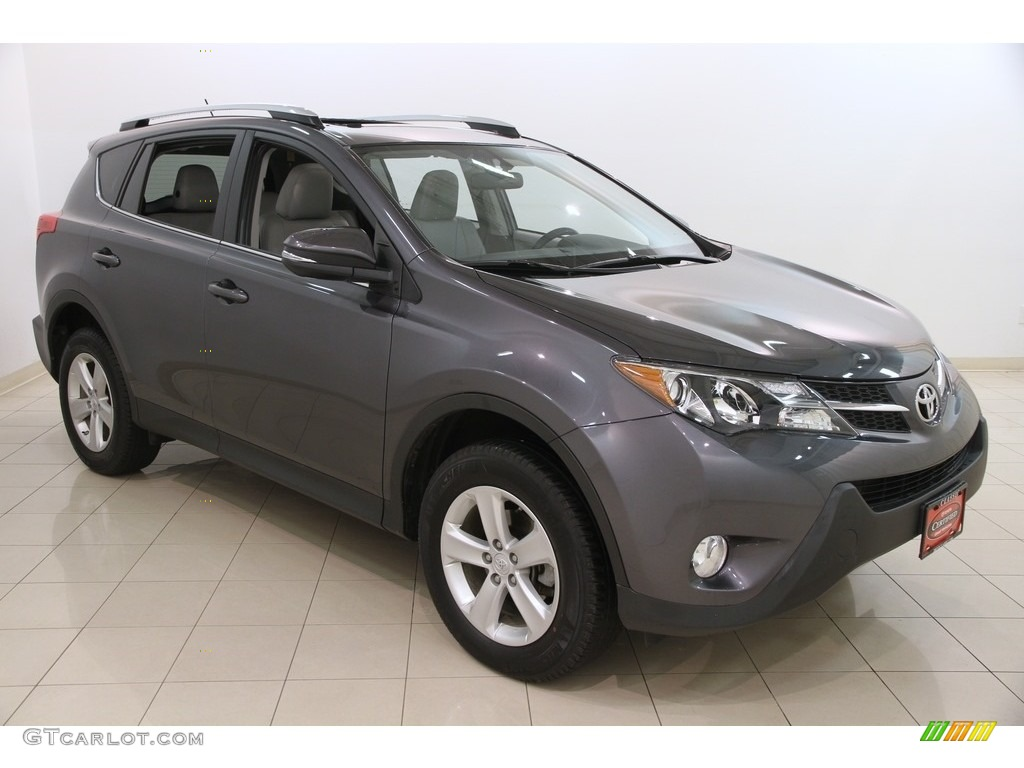 2015 magnetic gray metallic toyota rav4 xle 117826735 car color galleries. Black Bedroom Furniture Sets. Home Design Ideas