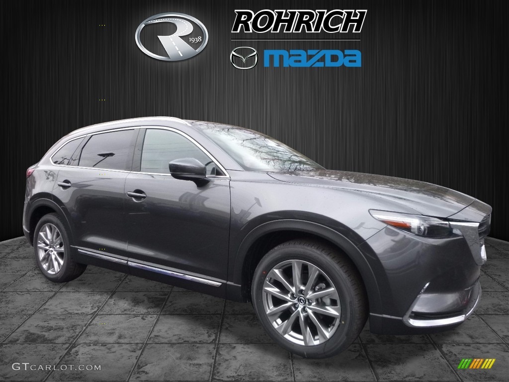 2016 machine gray metallic mazda cx 9 grand touring awd 117826563 photo 5 car. Black Bedroom Furniture Sets. Home Design Ideas
