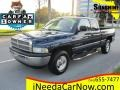 2001 Patriot Blue Pearl Dodge Ram 1500 ST Club Cab #117826542