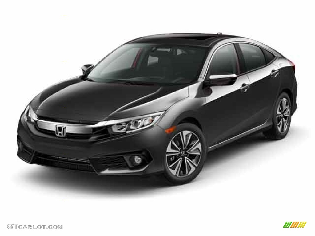 2017 modern steel metallic honda civic ex l sedan 117862313 photo 19 car. Black Bedroom Furniture Sets. Home Design Ideas