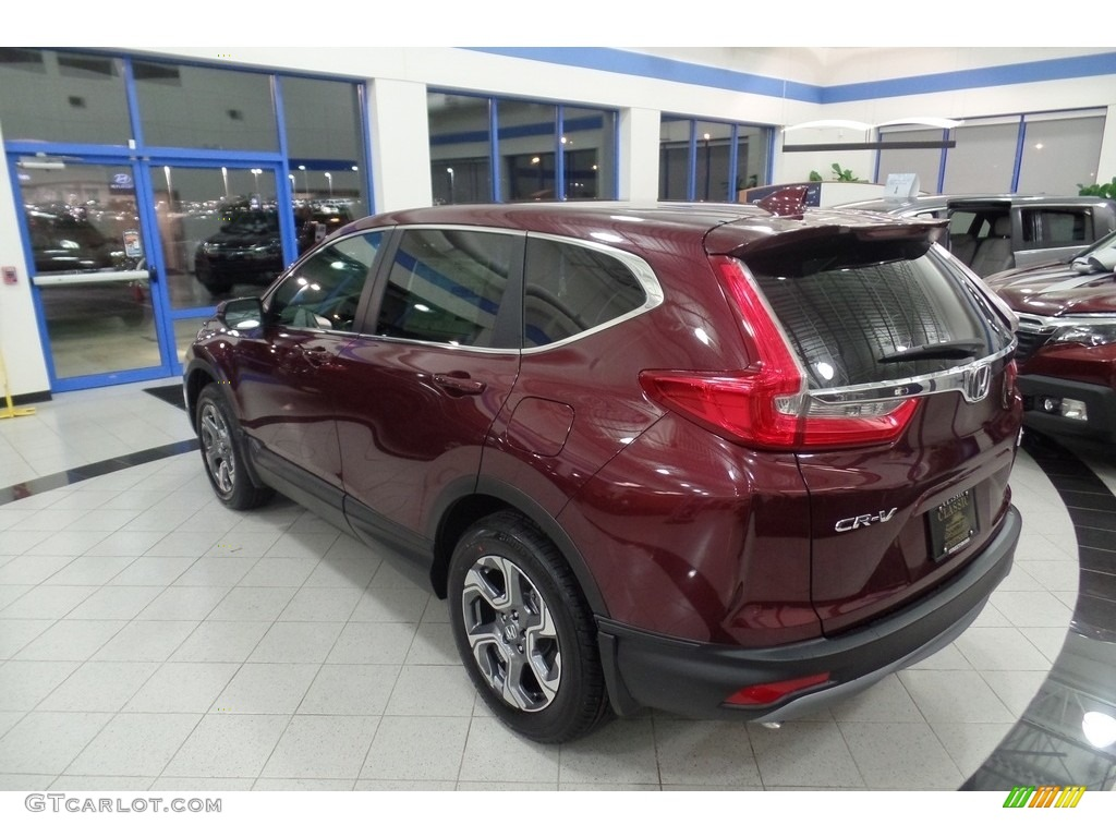 2017 basque red pearl ii honda cr v ex l awd 117862340 photo 2 car color. Black Bedroom Furniture Sets. Home Design Ideas