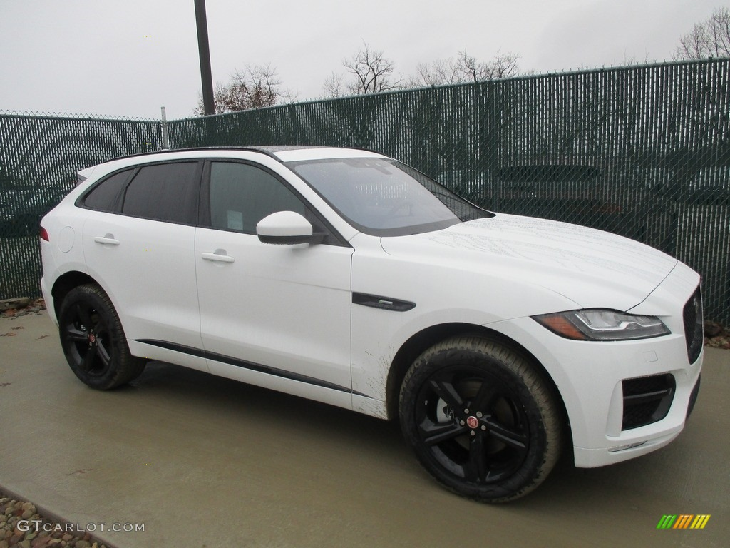 2017 polaris white jaguar f pace 35t awd r sport 117867499 car color galleries. Black Bedroom Furniture Sets. Home Design Ideas