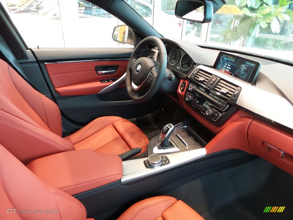 Coral Red Interior 2017 BMW 4 Series 440i XDrive Gran Coupe Photo 117875872