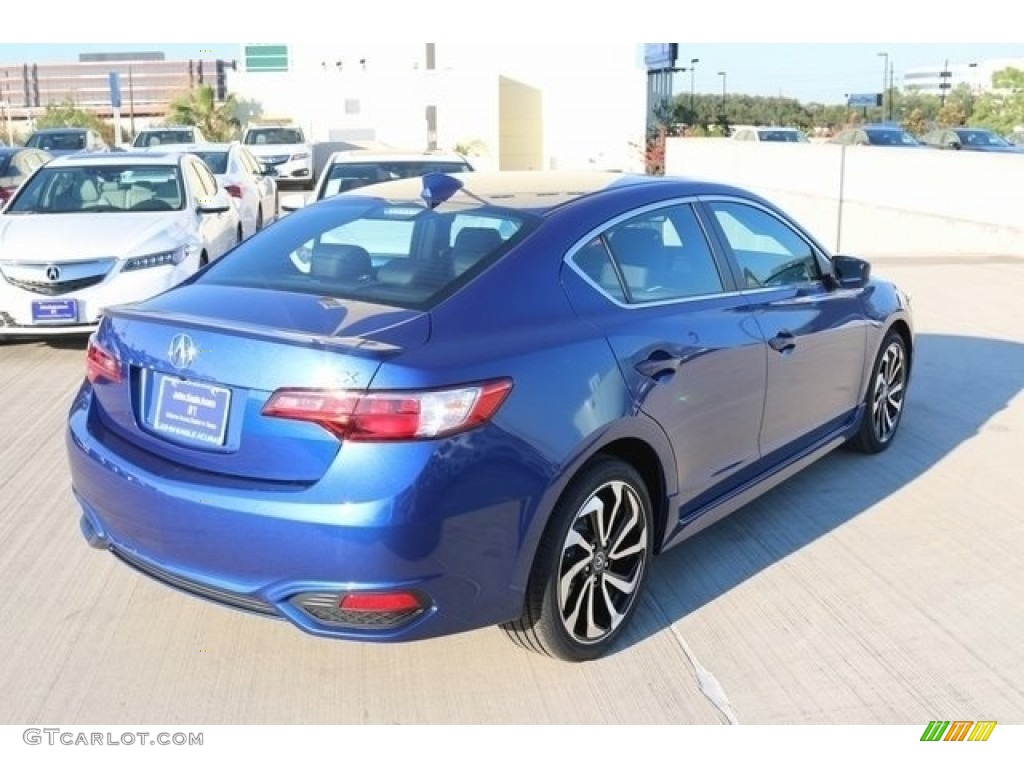 2017 Catalina Blue Pearl Acura ILX Technology Plus A-Spec