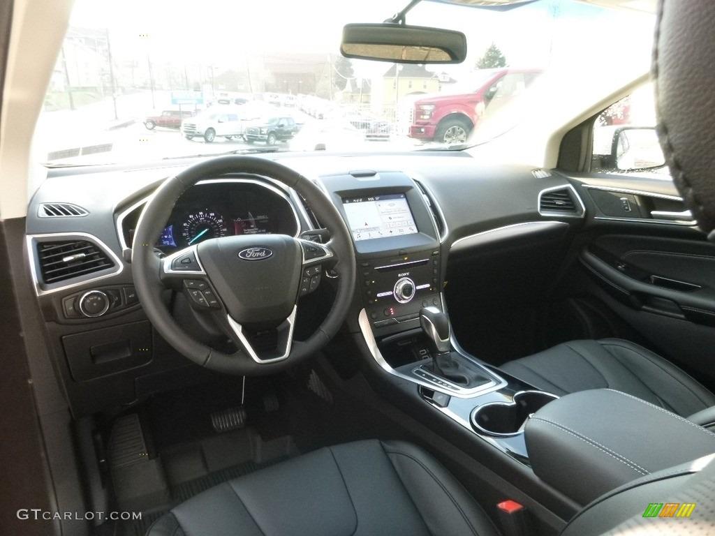 2017 White Platinum Metallic Ford Edge Titanium Awd 117910770 Photo 11 Car