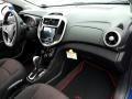 Jet Black 2017 Chevrolet Sonic Interiors