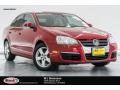 Salsa Red 2008 Volkswagen Jetta SE Sedan