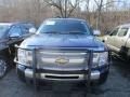 2011 Imperial Blue Metallic Chevrolet Silverado 1500 Extended Cab 4x4  photo #2