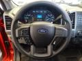 2017 Ford F250 Super Duty Medium Earth Gray Interior Steering Wheel Photo