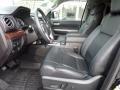 Black 2016 Toyota Tundra Limited CrewMax 4x4 Interior Color