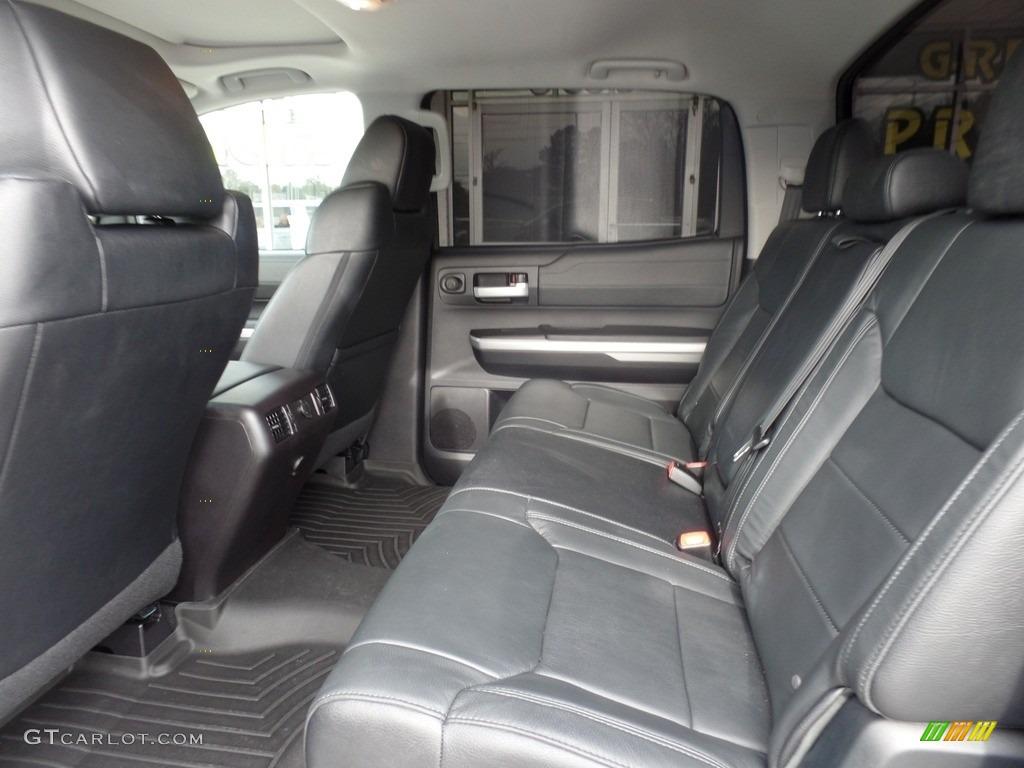 2016 Toyota Tundra Limited CrewMax 4x4 Rear Seat Photo #117976046