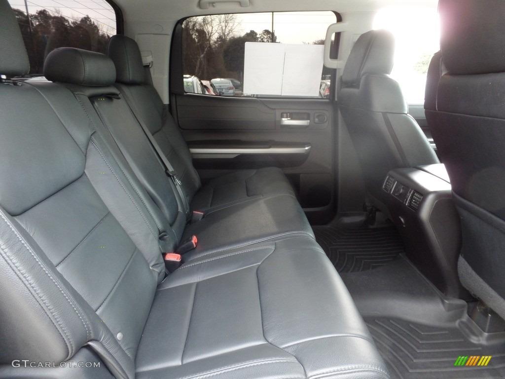 2016 Toyota Tundra Limited CrewMax 4x4 Rear Seat Photo #117976088