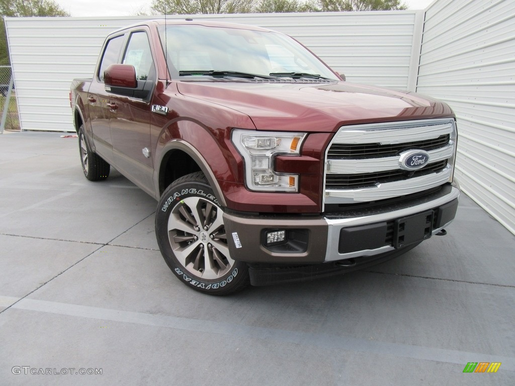 2017 bronze fire ford f150 king ranch supercrew 4x4 117987328 car color galleries. Black Bedroom Furniture Sets. Home Design Ideas