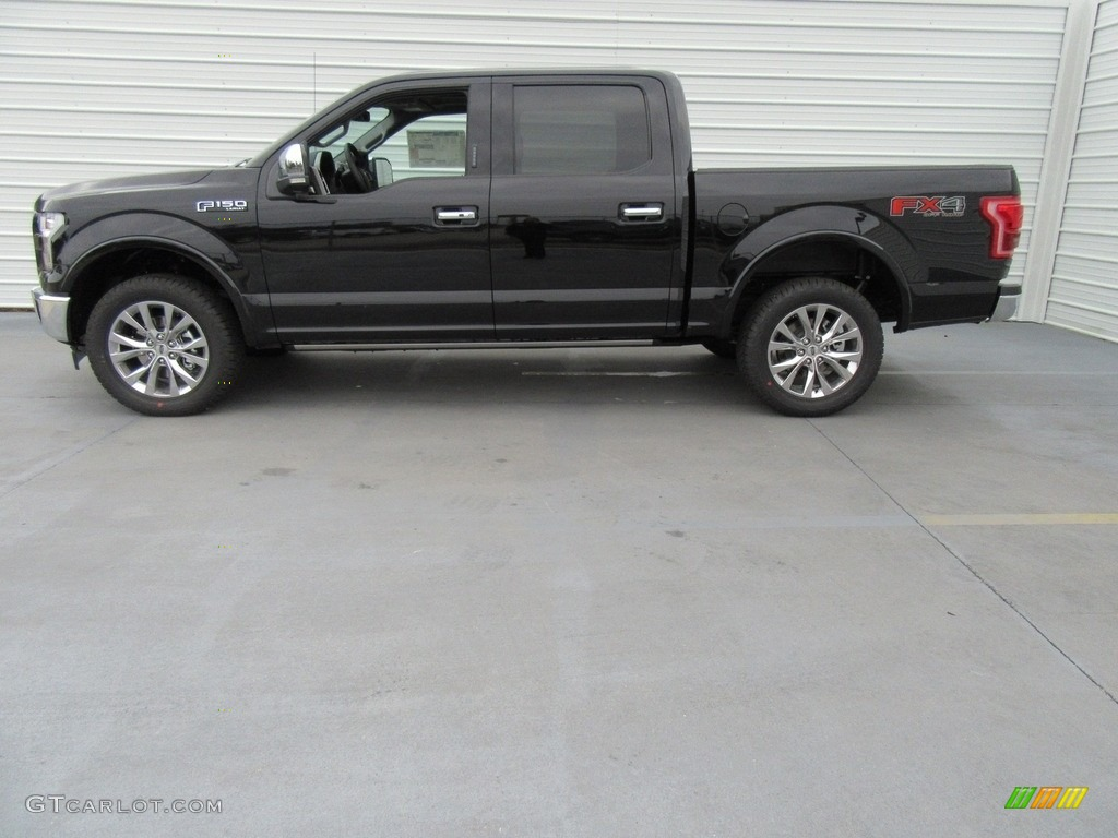 2017 shadow black ford f150 lariat supercrew 4x4 117987327 photo 6 car color. Black Bedroom Furniture Sets. Home Design Ideas