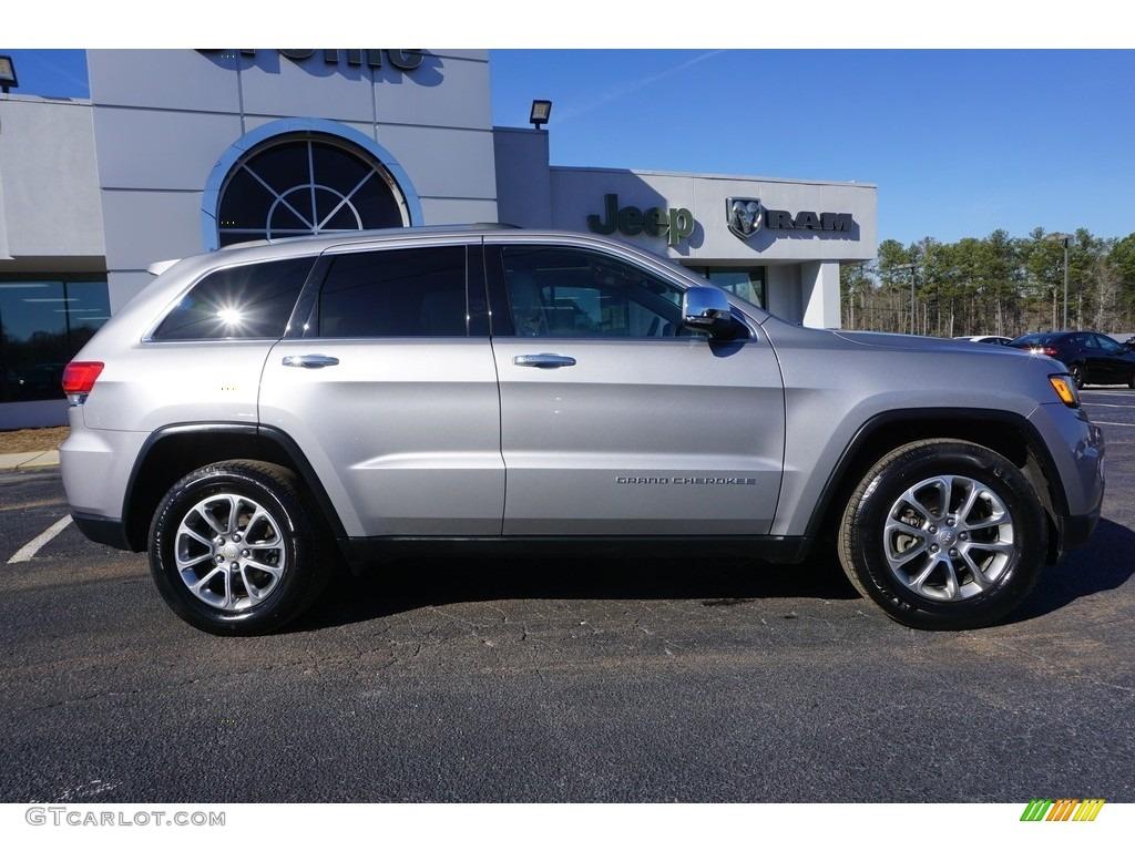 2015 billet silver metallic jeep grand cherokee limited 118008523 photo 8 car. Black Bedroom Furniture Sets. Home Design Ideas
