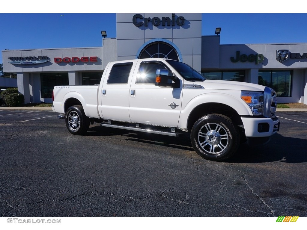 2015 f250 white platinum the image kid has it. Black Bedroom Furniture Sets. Home Design Ideas