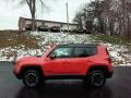 2017 Omaha Orange Jeep Renegade Trailhawk 4x4  photo #1