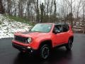 2017 Omaha Orange Jeep Renegade Trailhawk 4x4  photo #2