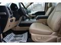 Light Camel 2017 Ford F150 Interiors