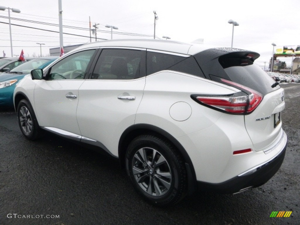 2017 Pearl White Nissan Murano Sl Awd 118032702 Photo 10 Car Color Galleries