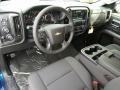 Jet Black Interior Photo for 2017 Chevrolet Silverado 1500 #118059000