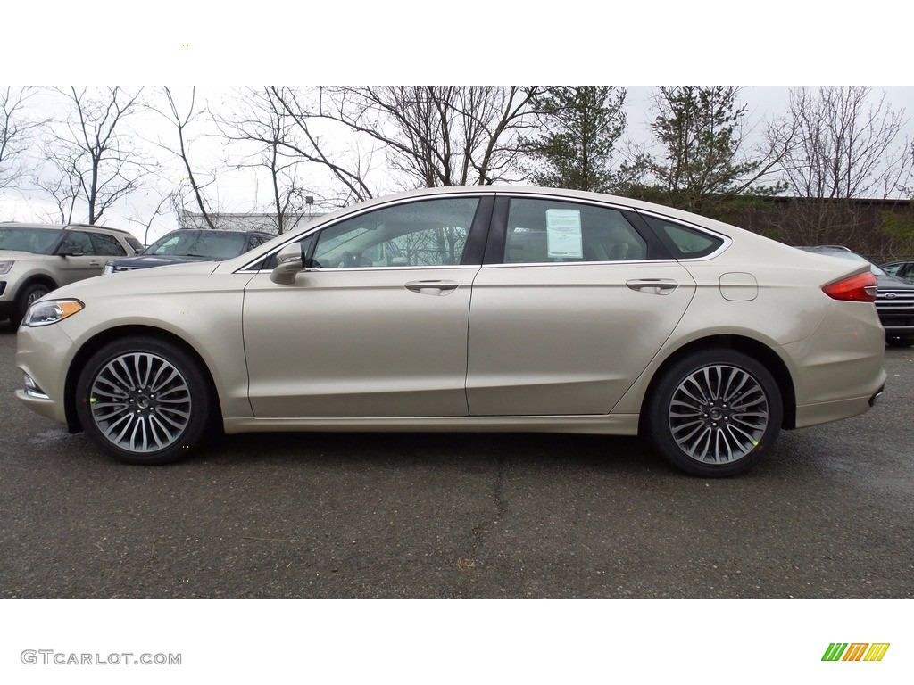2017 white gold ford fusion se awd 118061217 car color galleries. Black Bedroom Furniture Sets. Home Design Ideas