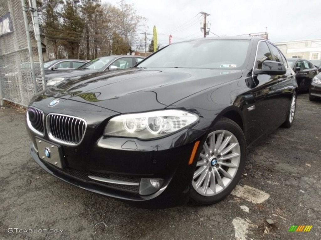 2013 black sapphire metallic bmw 5 series 535i xdrive. Black Bedroom Furniture Sets. Home Design Ideas