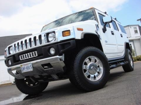 2003 Hummer H2 SUV Adventure Data, Info and Specs