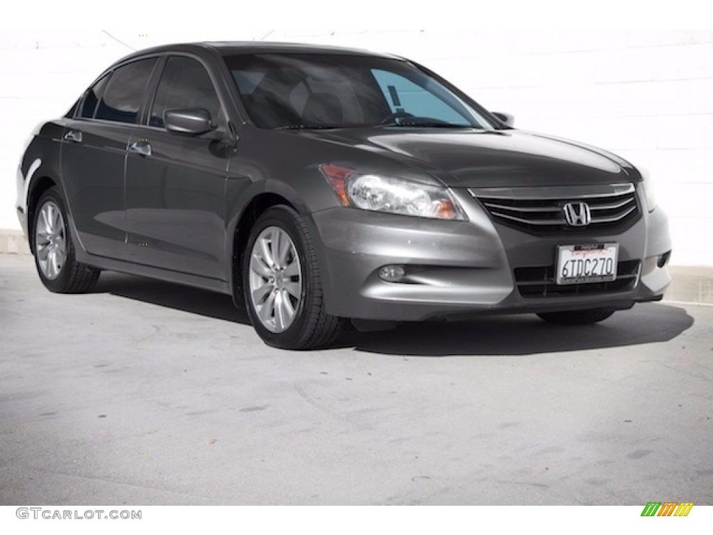 2011 polished metal metallic honda accord ex l v6 sedan for Honda accord ex l v6