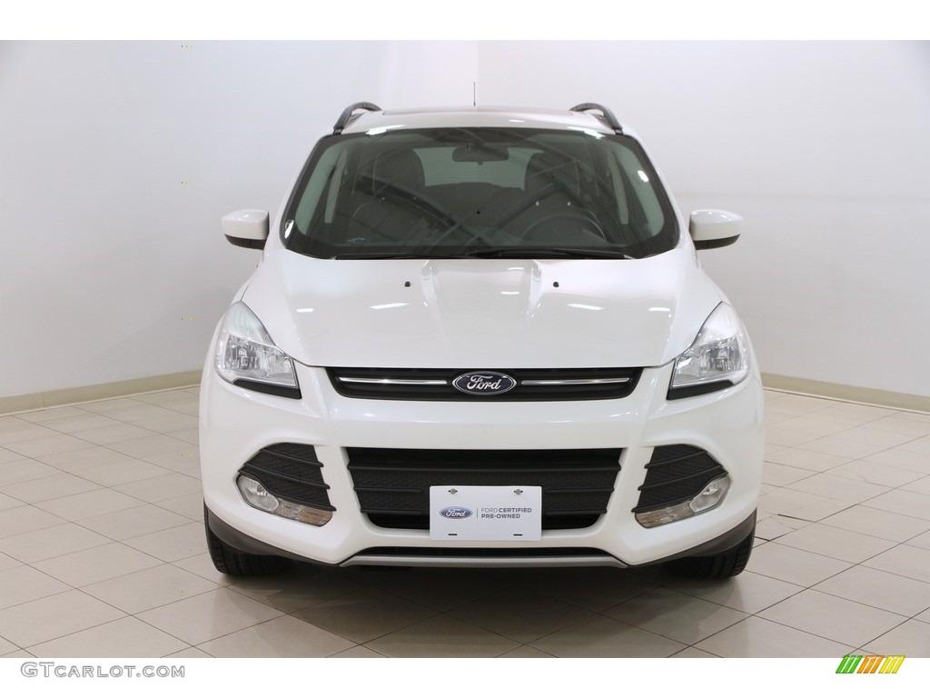 2014 Escape SE 1.6L EcoBoost 4WD - White Platinum / Charcoal Black photo #2