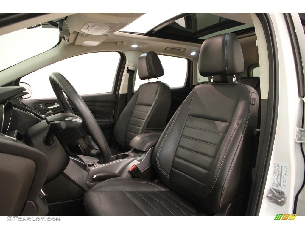 2014 Escape SE 1.6L EcoBoost 4WD - White Platinum / Charcoal Black photo #5