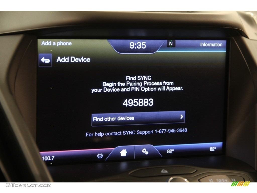 2014 Escape SE 1.6L EcoBoost 4WD - White Platinum / Charcoal Black photo #10