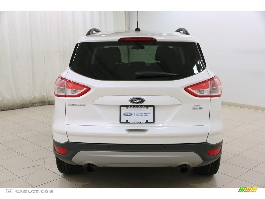2014 Escape SE 1.6L EcoBoost 4WD - White Platinum / Charcoal Black photo #17