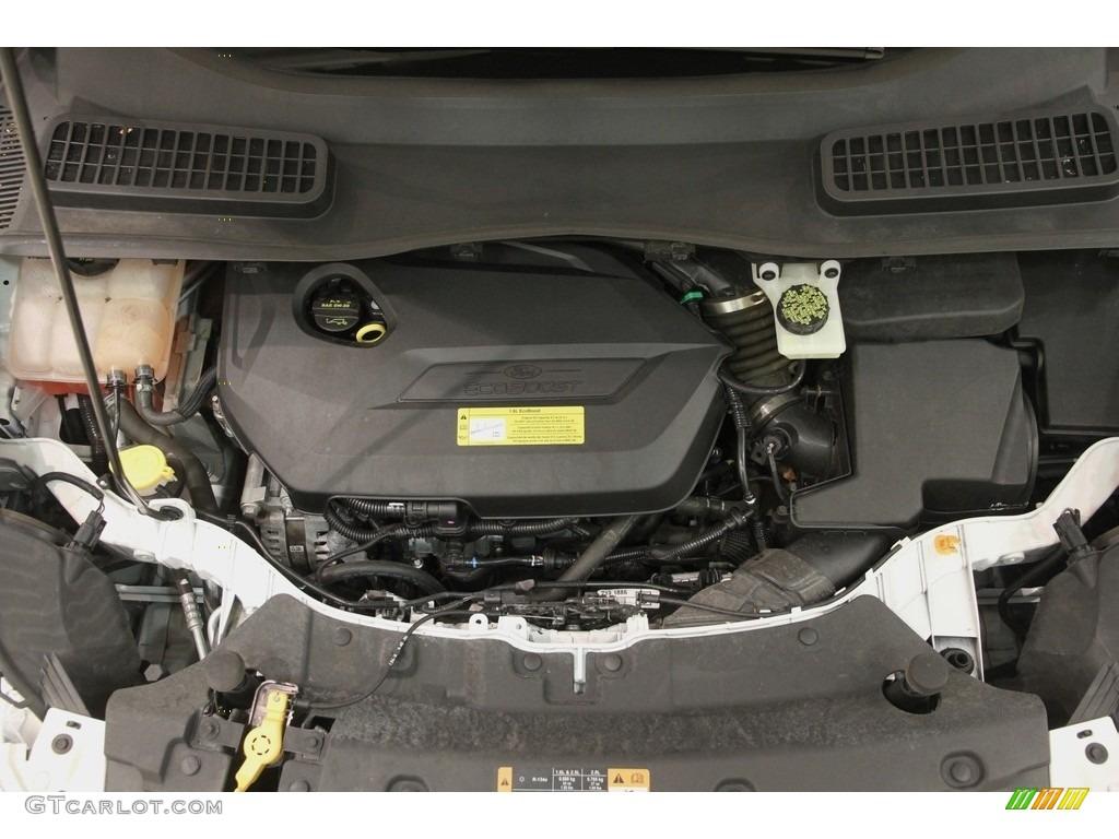2014 Escape SE 1.6L EcoBoost 4WD - White Platinum / Charcoal Black photo #18