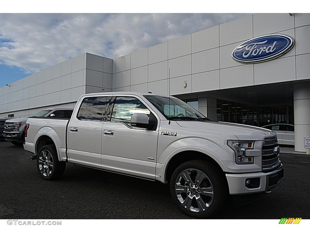 2017 white platinum ford f150 limited supercrew 4x4 118094666 photo 17 car. Black Bedroom Furniture Sets. Home Design Ideas