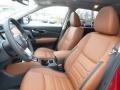 Platinum Reserve Tan 2017 Nissan Rogue Interiors