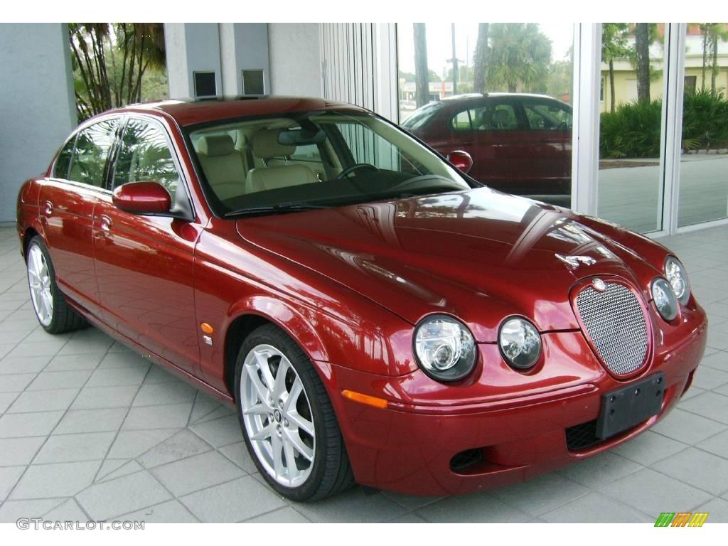 2007 radiance red metallic jaguar s type r sport 543158. Black Bedroom Furniture Sets. Home Design Ideas