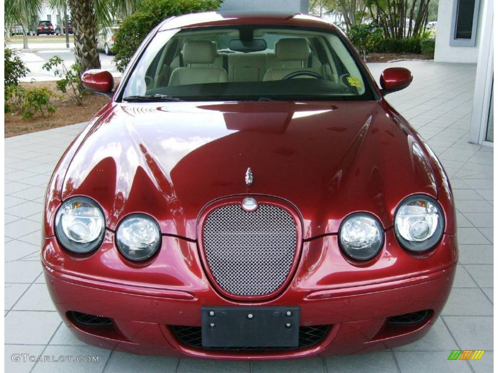 2007 radiance red metallic jaguar s type r sport 543158 2001 jaguar s type trunk fuse box jaguar s type r red #13