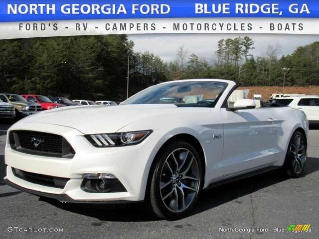 2017 White Platinum Ford Mustang Gt Premium Convertible 118094504 Photo 22
