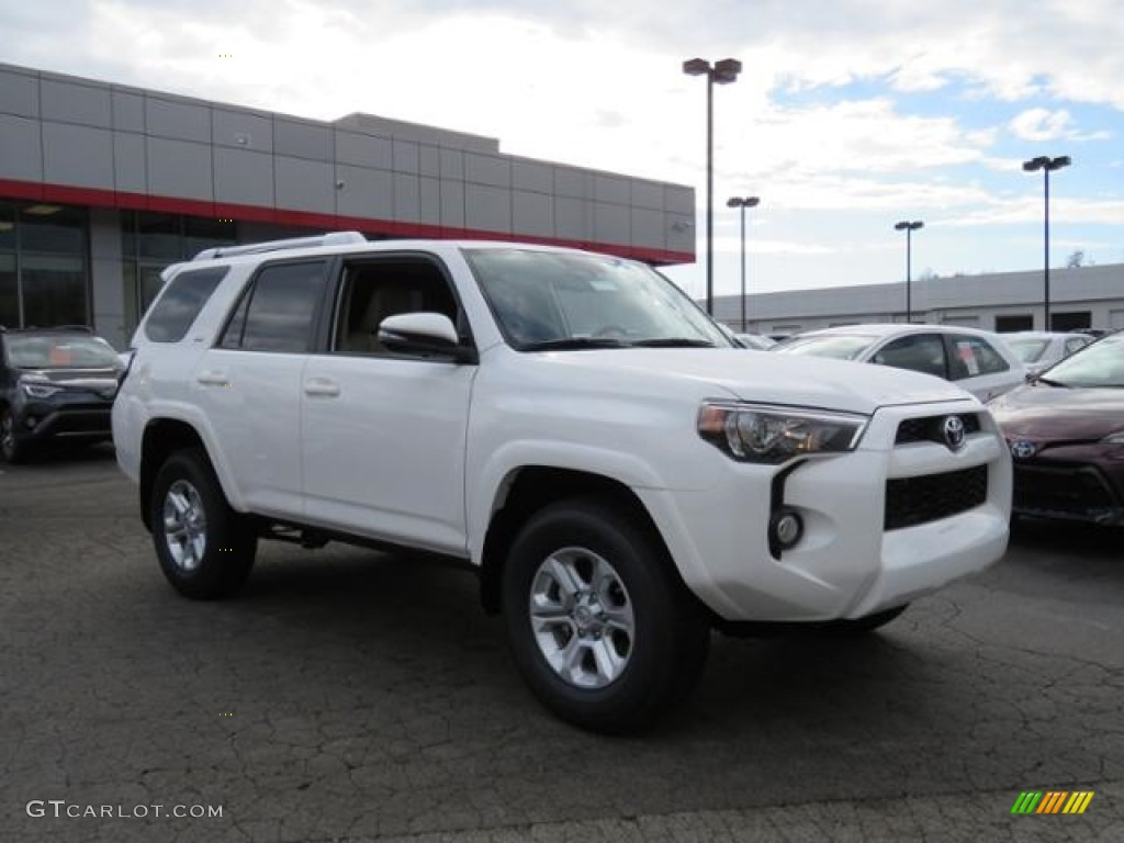 2017 super white toyota 4runner sr5 premium 4x4 118132730 car color galleries. Black Bedroom Furniture Sets. Home Design Ideas