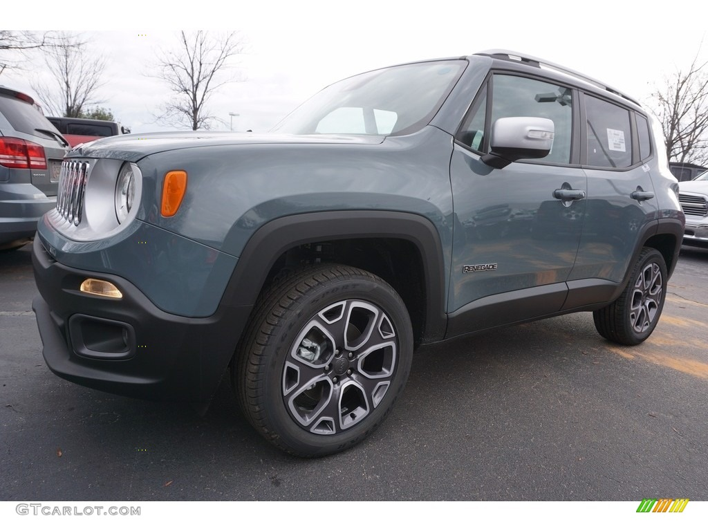 2017 Anvil Jeep Renegade Limited 4x4 #118136002 Photo #7 ...