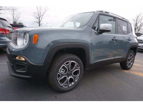 2017 Jeep Renegade Limited 4x4 Data, Info and Specs