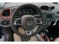 2017 Jeep Renegade Bark Brown/Ski Grey Interior Dashboard Photo