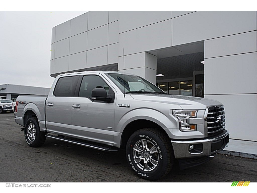 2017 ingot silver ford f150 xlt supercrew 4x4 118136044 car color galleries. Black Bedroom Furniture Sets. Home Design Ideas