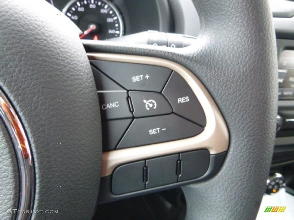 2017 Jeep Renegade Sport 4x4 Controls Photo #118143030