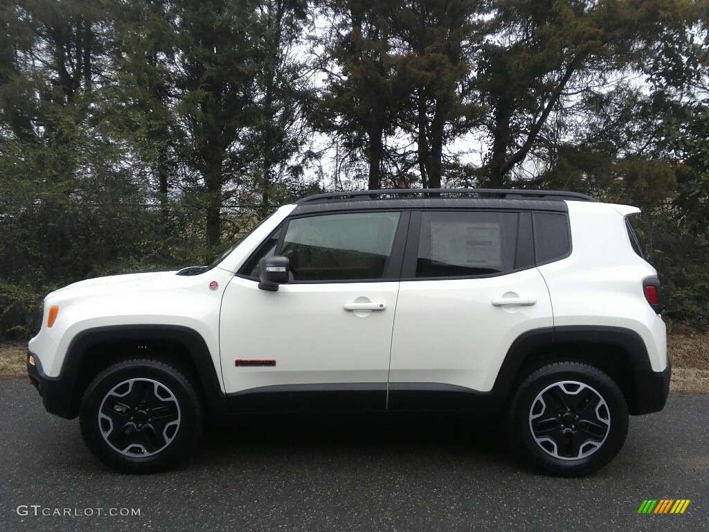 2017 alpine white jeep renegade trailhawk 4x4 118135894 car color galleries. Black Bedroom Furniture Sets. Home Design Ideas