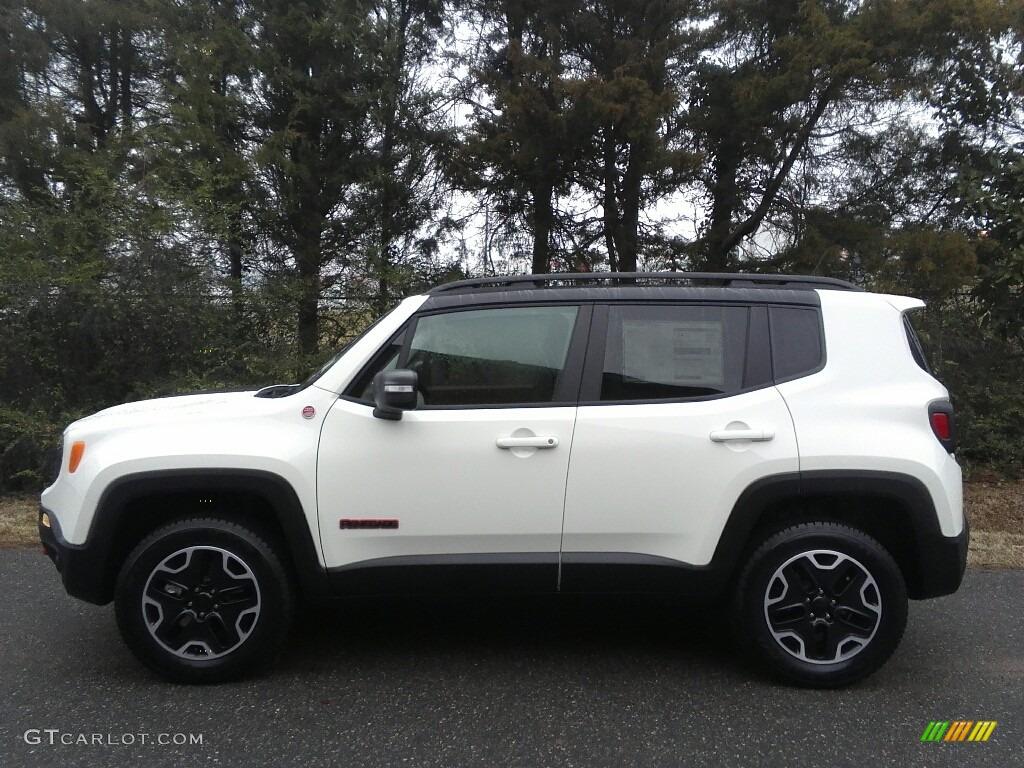 2017 alpine white jeep renegade trailhawk 4x4 118135894 car color galleries. Black Bedroom Furniture Sets. Home Design Ideas