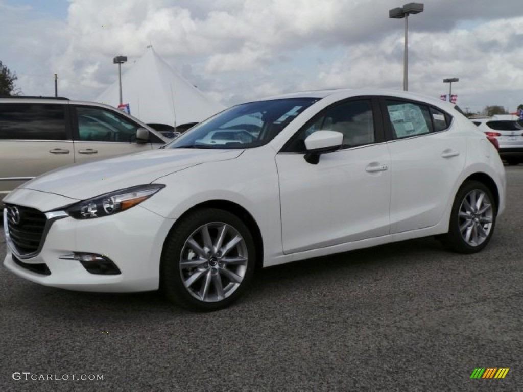 Mazda 3 5door >> 2017 Snowflake White Pearl Mica Mazda MAZDA3 Grand Touring 5 Door #118157013 | GTCarLot.com ...