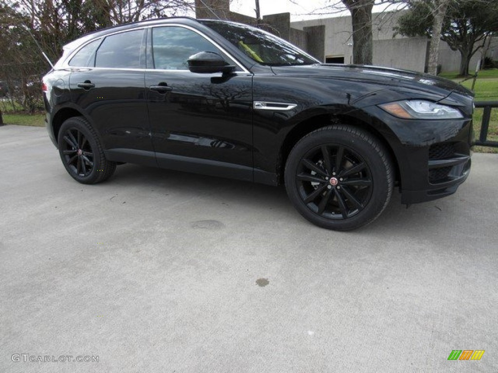 2017 ultimate black jaguar f pace 20d awd prestige 118156999 car color galleries. Black Bedroom Furniture Sets. Home Design Ideas
