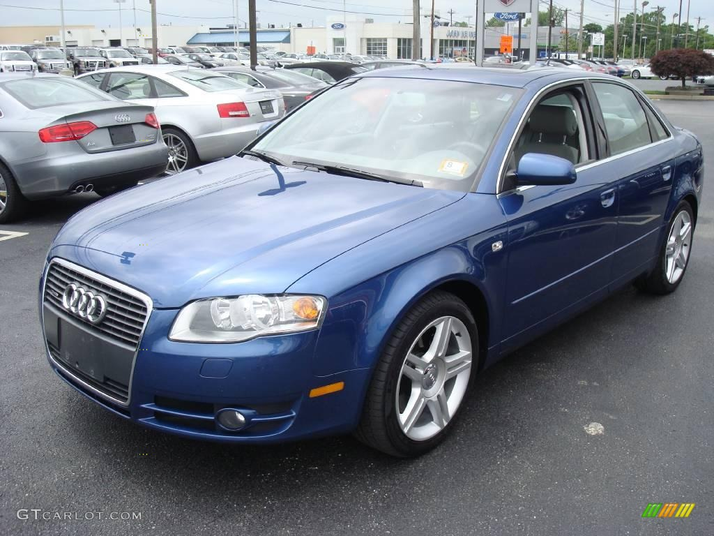 2005 ocean blue pearl audi a4 2 0t quattro sedan 11795862 car color galleries. Black Bedroom Furniture Sets. Home Design Ideas